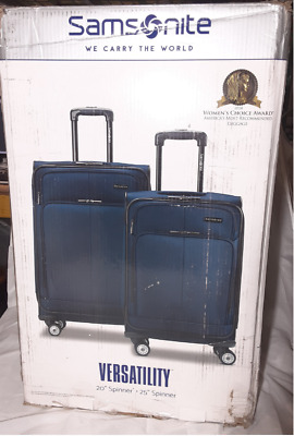 Samsonite Versatility 2-Piece Luggage Set In Majolica Blue