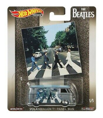 2019 Hot Wheels Beatles Pop Culture Volkswagen T1 Panel Bus Combine Shipping