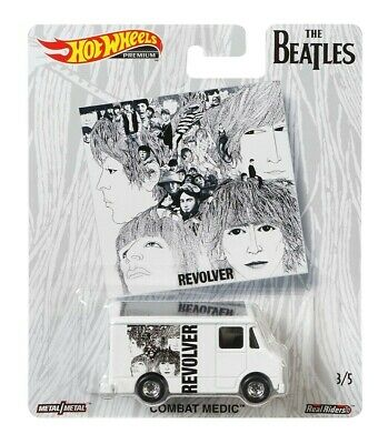 2019 Hot Wheels Beatles Pop Culture Revolver Combat Medic Combine Shipping