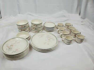 Keltcraft misty isle By Noritake Ireland Detergent And Oven Safe 35 pieces 9159