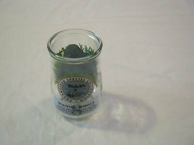 1995 Welch/'s Endangered Species Collection Jelly Jar Glass #2-Black Rhino
