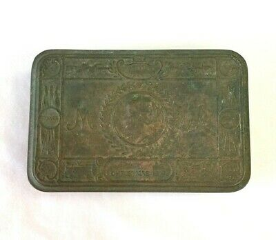 Wwi 1914 Princess Mary Brass Gift Tin Original - Shed Find