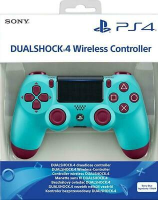 Official Sony PlayStation 4 DualShock 4 Wireless Controller Berry Blue PS4 NEW