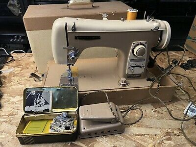Vintage 1960s Brother Sewing Machine Made In JAPAN Works Good *FAST SHIPPING*