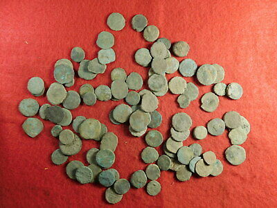 100 Uncleaned Ancient Coins (primarily Roman) (TT19)