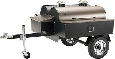 Traeger Double Commercial Grill - Smoker - Trailer - Awesome - Retail $6400