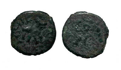 (10894) Rare Bukhara Soghd AE coin, Varakhsha, unknown ruler.-RRR
