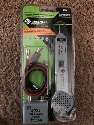 Greenlee (Tempo) 402K CATV Cable Tone Test Kit