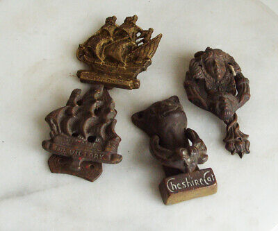 4 Vintage Brass Cheshire Cat Door Knocker PLUS OTHERS - JOB LOT