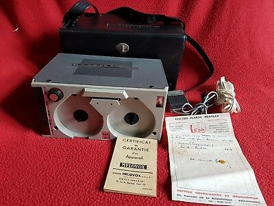 Melovox magnetophone S 2001 MADE IN ITALY VINTAGE RETRO RARE 1967