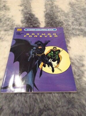 Batman Forever Colouring Book From 1995