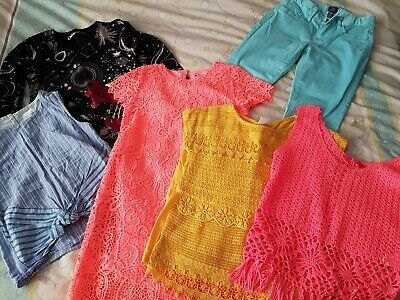 bundle of girls clothes size 10/11/12 years