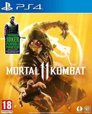 Mortal Kombat 11 Inc Joker DLC (PS4) Out 7th eb Pre Order Now Brand New & Sealed