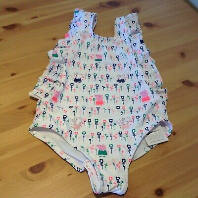 Girls Peppa Pig, Swimsuit/Bather, age 6-7 years, Marks & Spencer, Bnwt