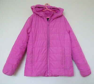 Gap kids Pink Quilted Puffa Jacket with  hood - Size XL Regular- Age 12 yrs