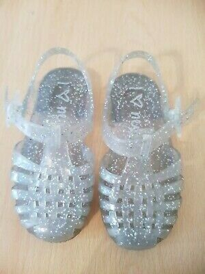 Girls Sparkle Jelly Shoes From Next Size 13
