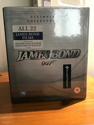 NEW Bond Complete Collection (DVD, 44-Disc Set, Box Set)