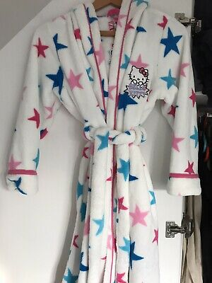 Hello Kitty Girls Dressing Gown. Age 11-12. M & S. New,