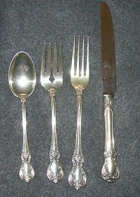 Towle Sterling Old Master 4 Piece Set - No Monogram