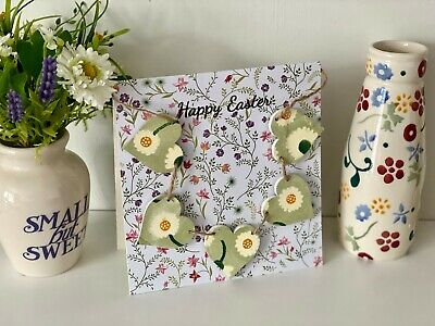 A Handcrafted 'Happy Easter' Card With A Emma Bridgewater Daisy L.G Mini Bunting