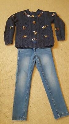 Girls NEXT outfit (Jeans & Jumper) 5years