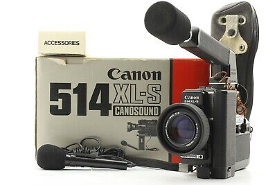 【 BOXED EXC+5 】 Canon 514XL-S Canosound Super 8 8mm Movie Film Camera from JAPAN