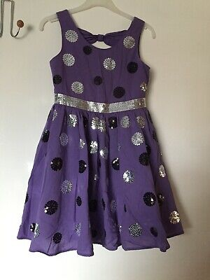 Marks And Spencer Autograph Girls Party Dress Age 9 Years