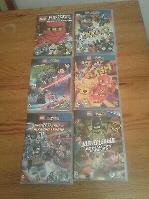 Lego Justice League Dvd Bundle. Dc Batman