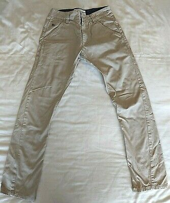 JASPER CONRAN boys sand coloured trousers in size 10 years