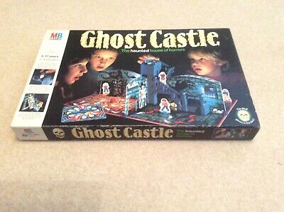 Ghost Castle Board Game Complete MB Games Vintage Toy 1985 Vgc