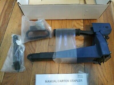 Manual Carton Stapler Serial No. H12-02642