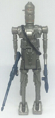 Vintage STAR WARS Figure: IG-88 RED/Double Eyed; No COO with V7 Acc