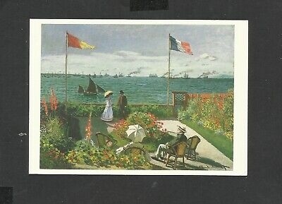 Art Print//Poster The Terrace at Sainte-Adresse 3222 Claude Monet