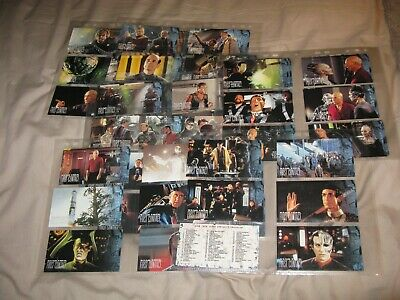 Star Trek First Contact Trading Cards Full Set