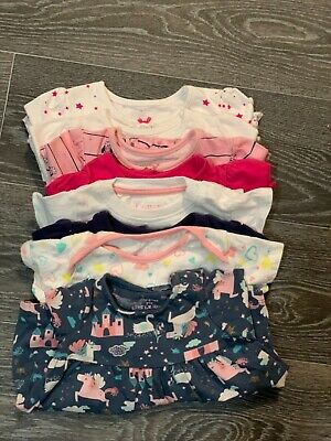 Lovely Little Baby Girls Bundle of Tops. Age 0-3 Months