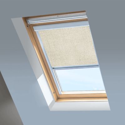 BLACKOUT SKYLIGHT ROLLER BLINDS FOR VELUX WINDOWS WITH NEW 2013 CODES ONWARDS