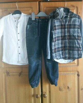 Boys outfit Tops And Jeans Next,Lupilu 4-5 Years