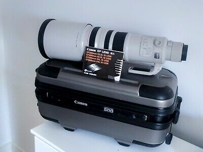 Canon 500mm F/4 IS USM Lens