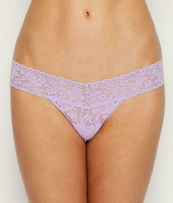 Hanky Panky Signature Lace Low Rise Thong # 4911 Nwt