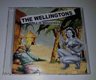RARE THE WELLINGTONS - GIRLS IN MAGAZINES 2 Track CD IN GOOD CONDITION