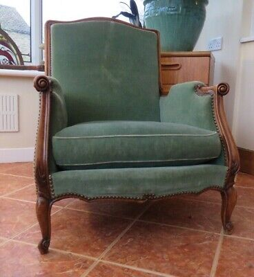 Beautiful Antique French Louis Xvi Style Chair Original Condition