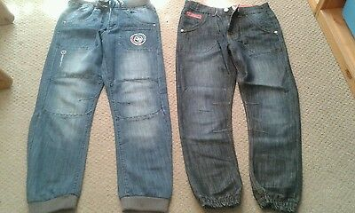 Boys Designer Blue Denim Jeans – Joe Bloggs & Ripstop Age 13 EXCELLENT CONDITION