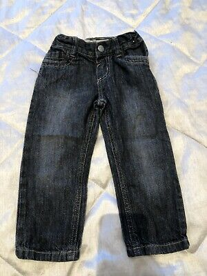 BOYS BLUE Jeans Straight 2-3 Years By Denim&Co