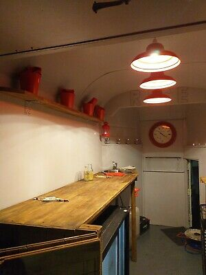 Vintage Rice Horsebox Newly Converted To Catering Trailer Bar Coffee Cakes