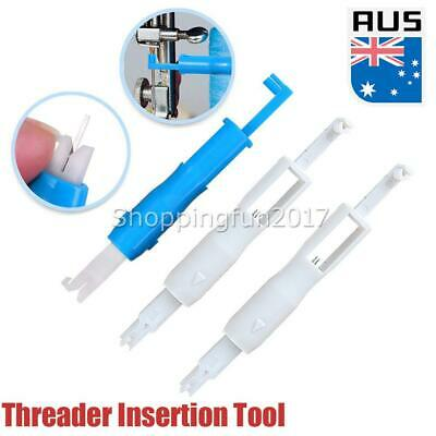 3x Automatic Threader Needle Inserter Tool for Sewing Machine Multifunctional