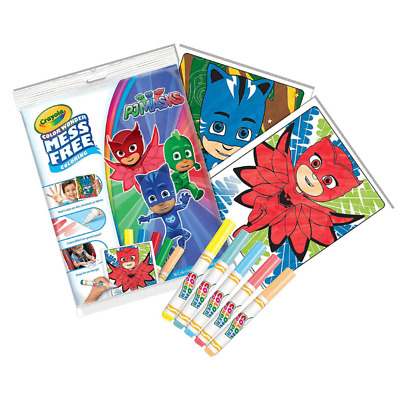 PJ MASKS Crayola Color Colour Wonder Mess Free Colouring Set Markers