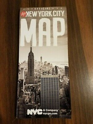 Official New York City NYC Visitor Tourist Map Guide 2020 Edition Free Shipping
