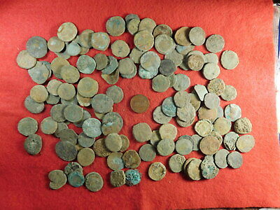 120 Uncleaned Ancient Coins (primarily Roman) (TT22)