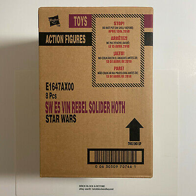 """Hasbro Star Wars The Vintage Collection TVC 3.75"""" Rebel Soldier Hoth VC120 Case"""
