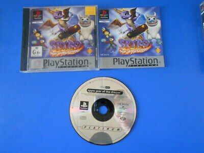 """Spyro: Year Of The Dragon - PS1 PAL """"Aussie Seller"""""""